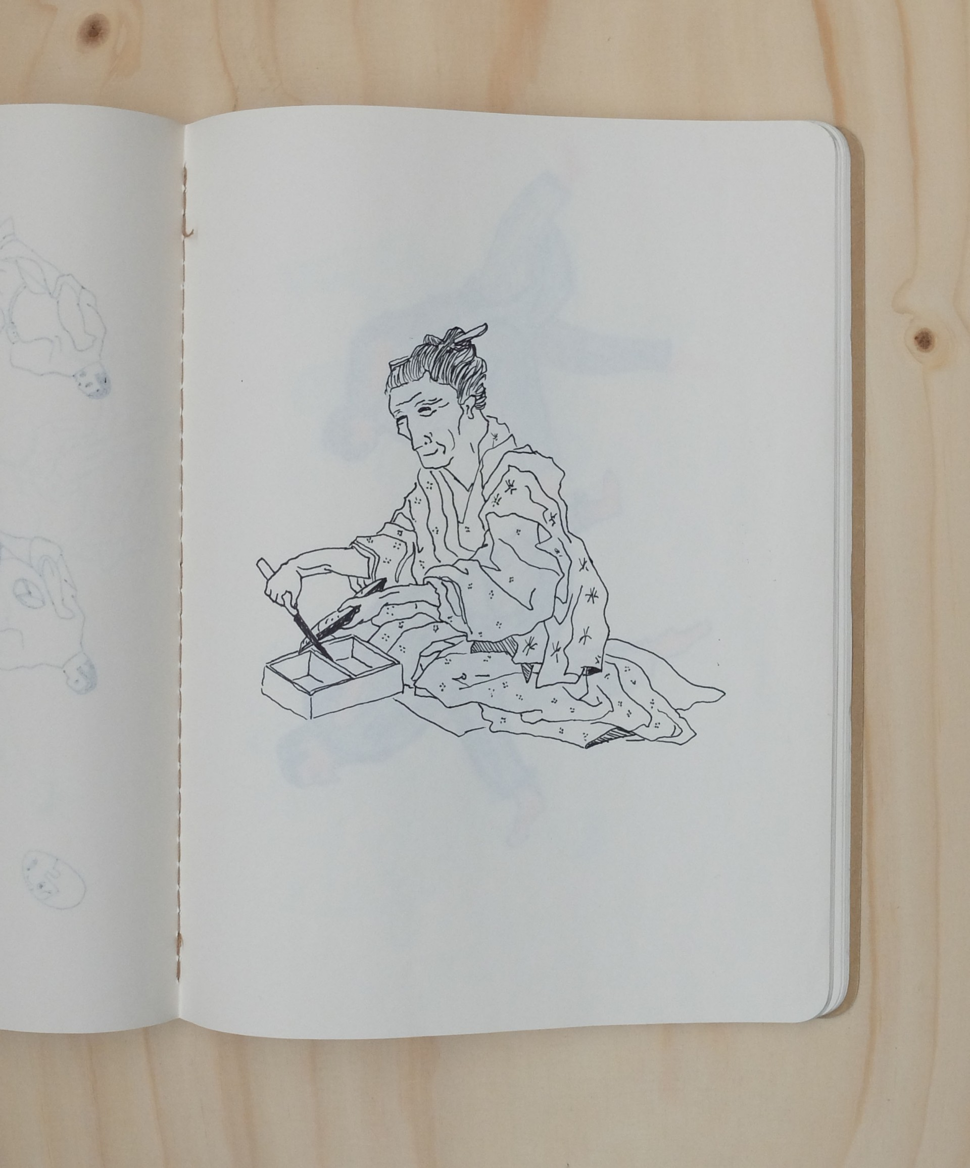 Nadia de Donno esquisses archives