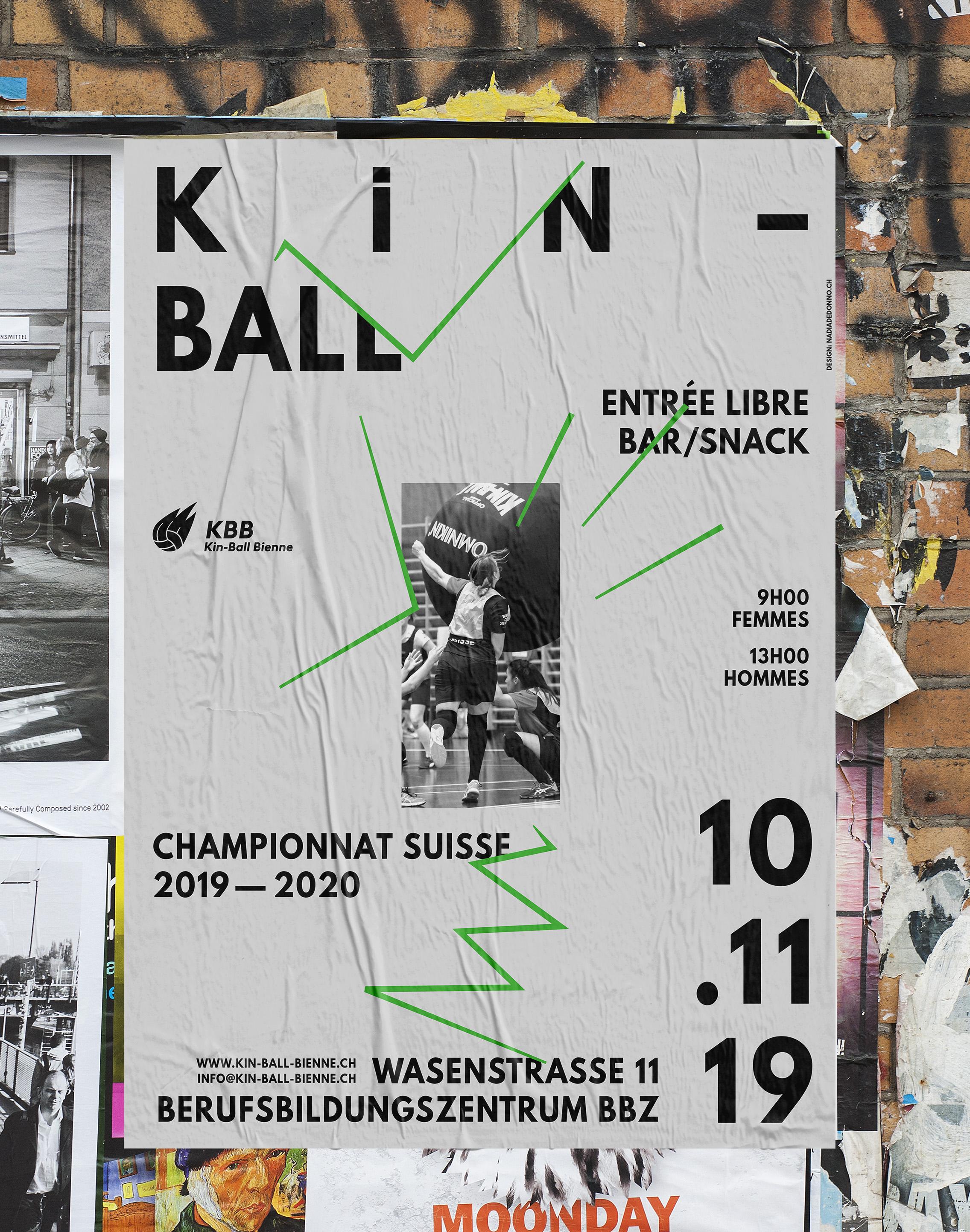 Nadia de Donno Kin-Ball Bienne