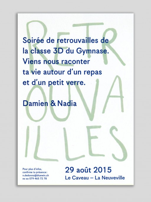 Nadia de Donno flyer archives