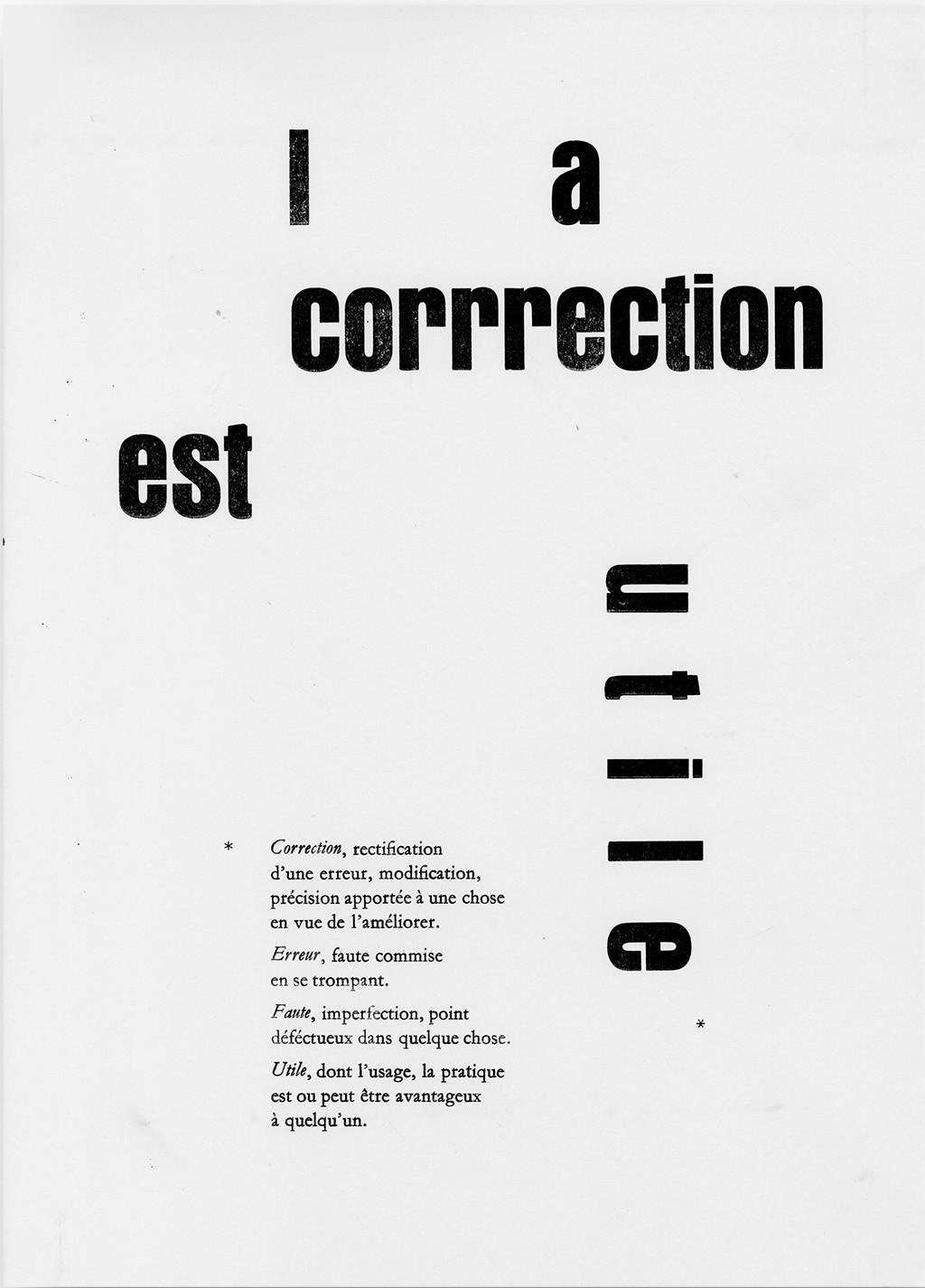Nadia de Donno Composition en plomb