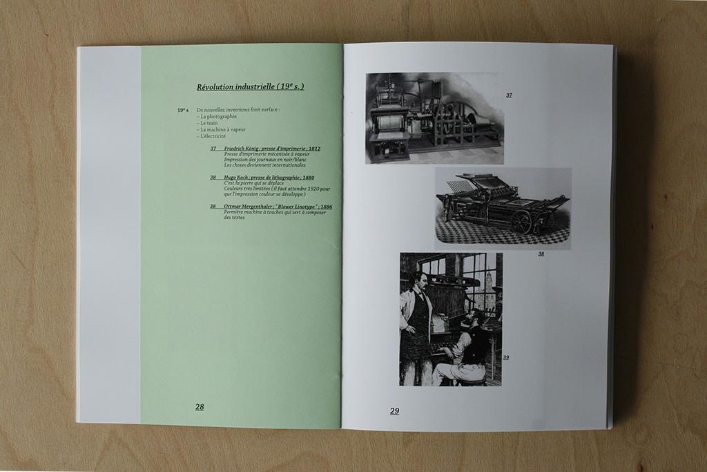 Nadia de Donno histoire du graphisme